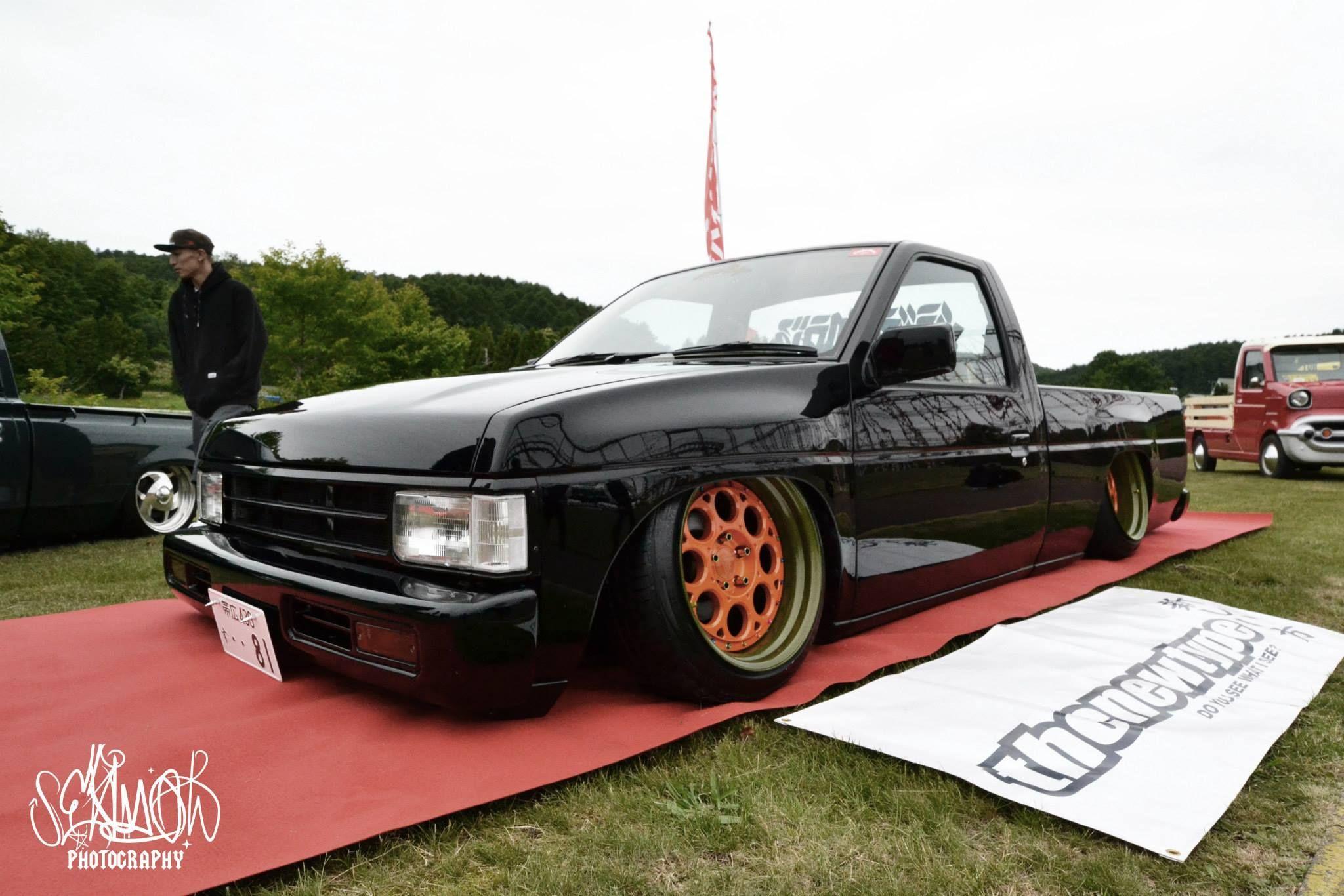 Nissan d21 hardbody thenewtype japan c c burramundi forged wheel