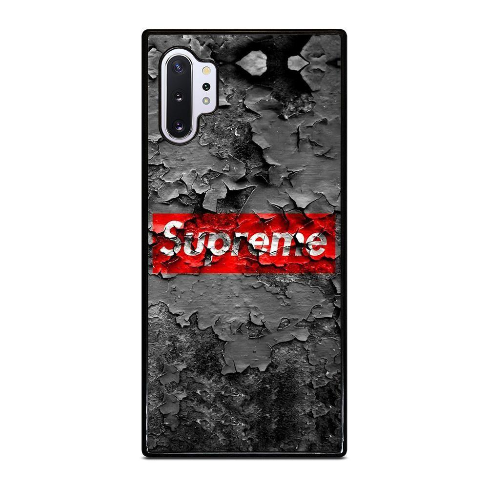 SUPREME CRACKED LOGO Samsung Galaxy Note 10 Plus Case - Casefine