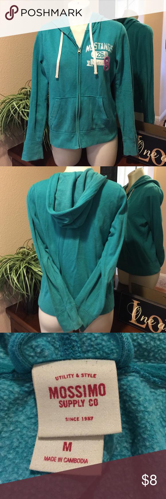 Zip Up Hoodie🌟 Super cute zip up hoodie in excellent condition, thanks for looking 😊 Mossimo Supply Co. Tops Sweatshirts & Hoodies