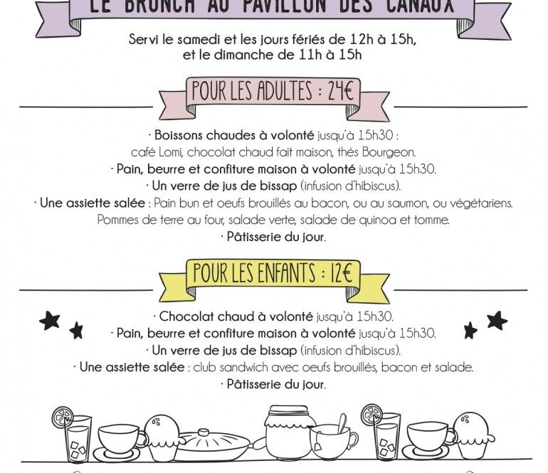 brunch | Pavillon, Chocolat chaud fait maison