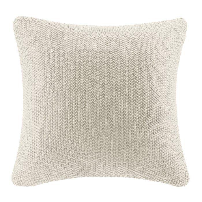 Elliott Throw Pillow Cover Throw Pillows Ivory Throw