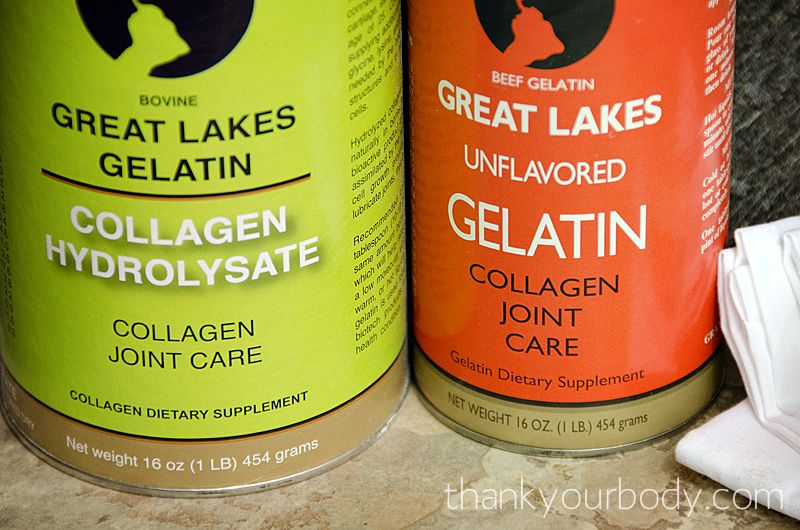 how to use gelatin powder for health