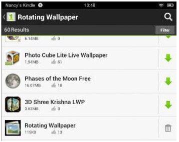 Kindle Fire Wallpaper App Wallpaper App Kindle Fire Tablet Amazon