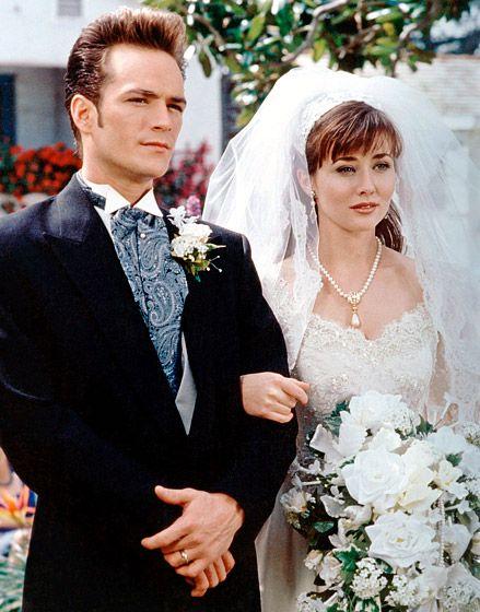 Ashley hamilton shannen doherty wedding dress