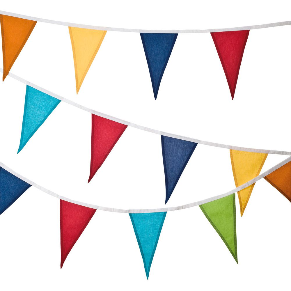Rainbow Bunting - Bunting & Decorations - Bedding & Room Accessories - gltc.co.uk