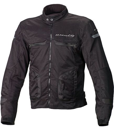 New for 2015 - Cool bomber style motorcycle jacket - Macna Command+