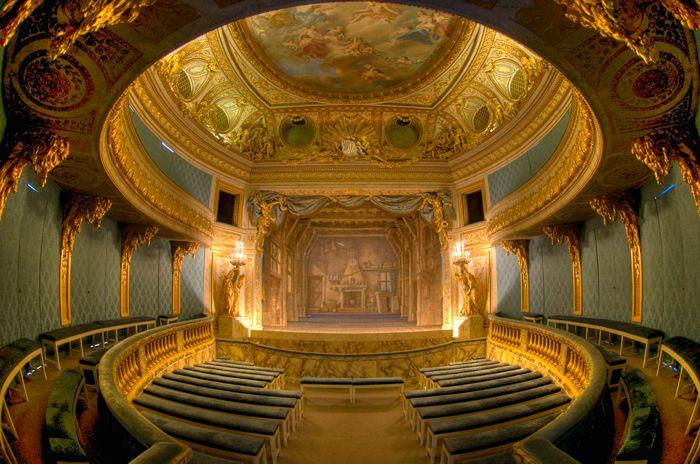 Petit Theatre of Marie Antoinette at the Petit Trianon | Trianon,  Versailles, Petit trianon