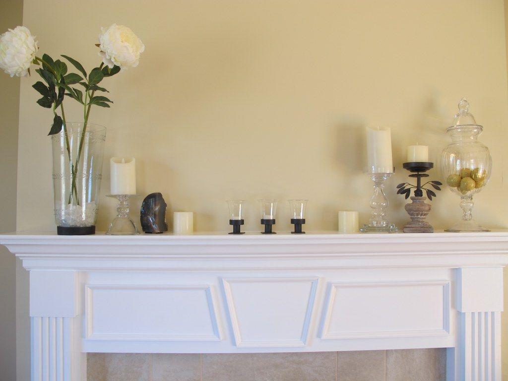 Springtime Mantel | Mantels, Decoration and Fireplace mantel