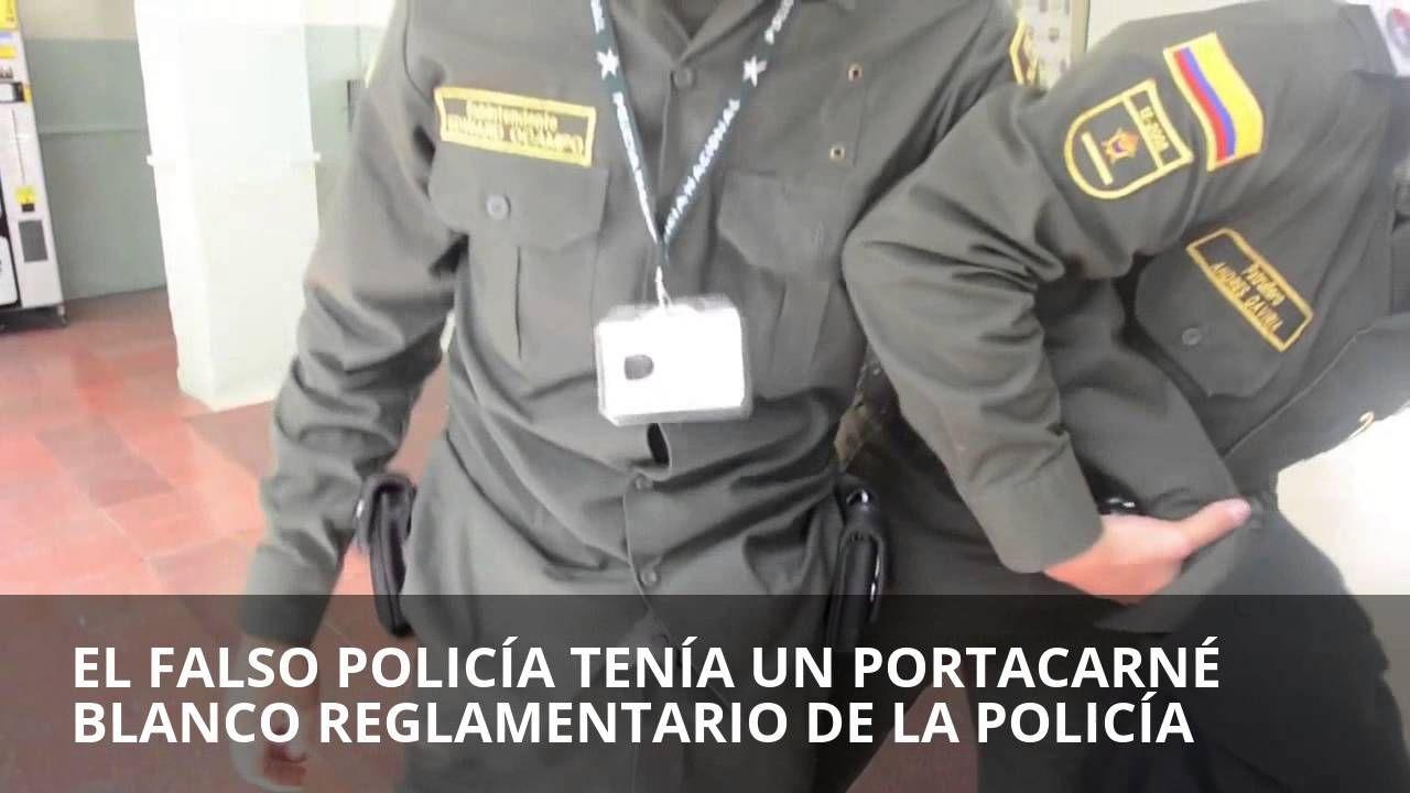 CAPTURAN FALSO POLICÍA REINCIDENTE