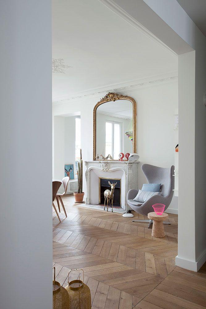 Pingl par julia sur living room appartement paris appartement hausmanien et mobilier de salon - Maison de la hongrie paris ...