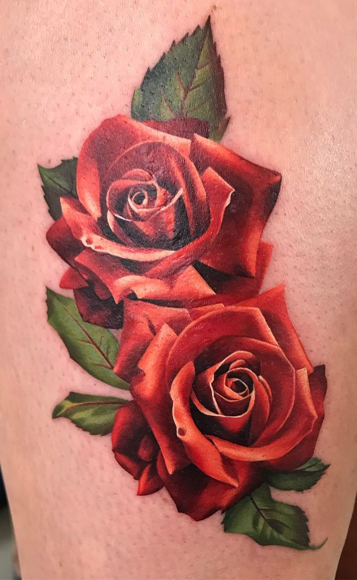 Awesome Rose Tattoo C Tattoo Artist Michelle Maddison Rose Tattoo Forearm Realistic Rose Tattoo Red Rose Tattoo