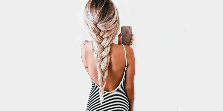 Peinados que necesitas para tomarte selfies de espaldas