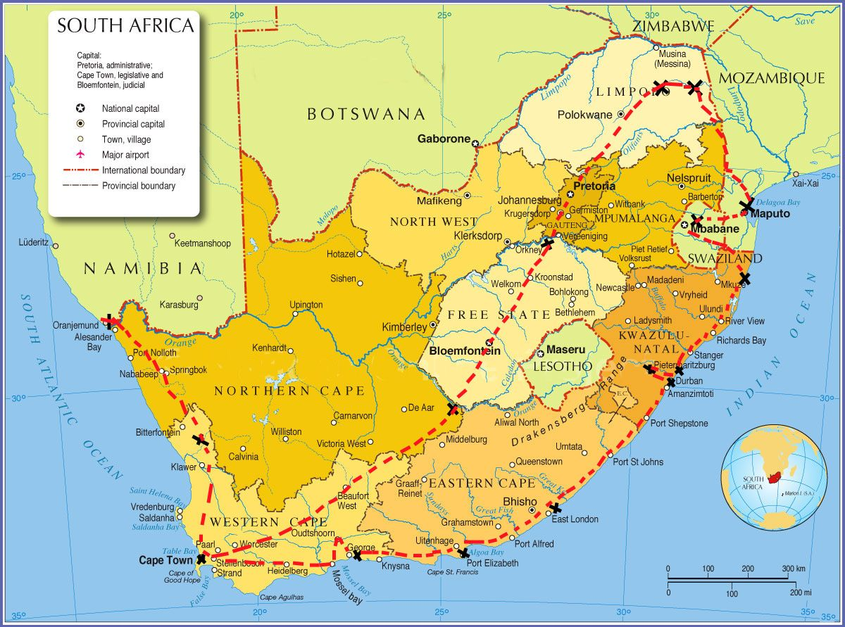 cape of good hope on the map Google Search Western Cape South