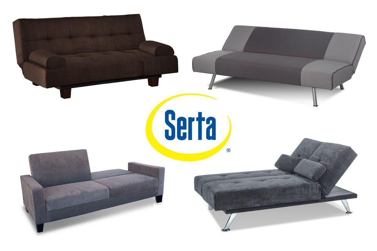 Serta Dream Convertible Klik Klak Futons From Gardner White Furniture