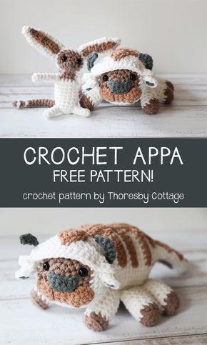Crochet Appa Pattern Free Crochet Pinterest Crochet Free