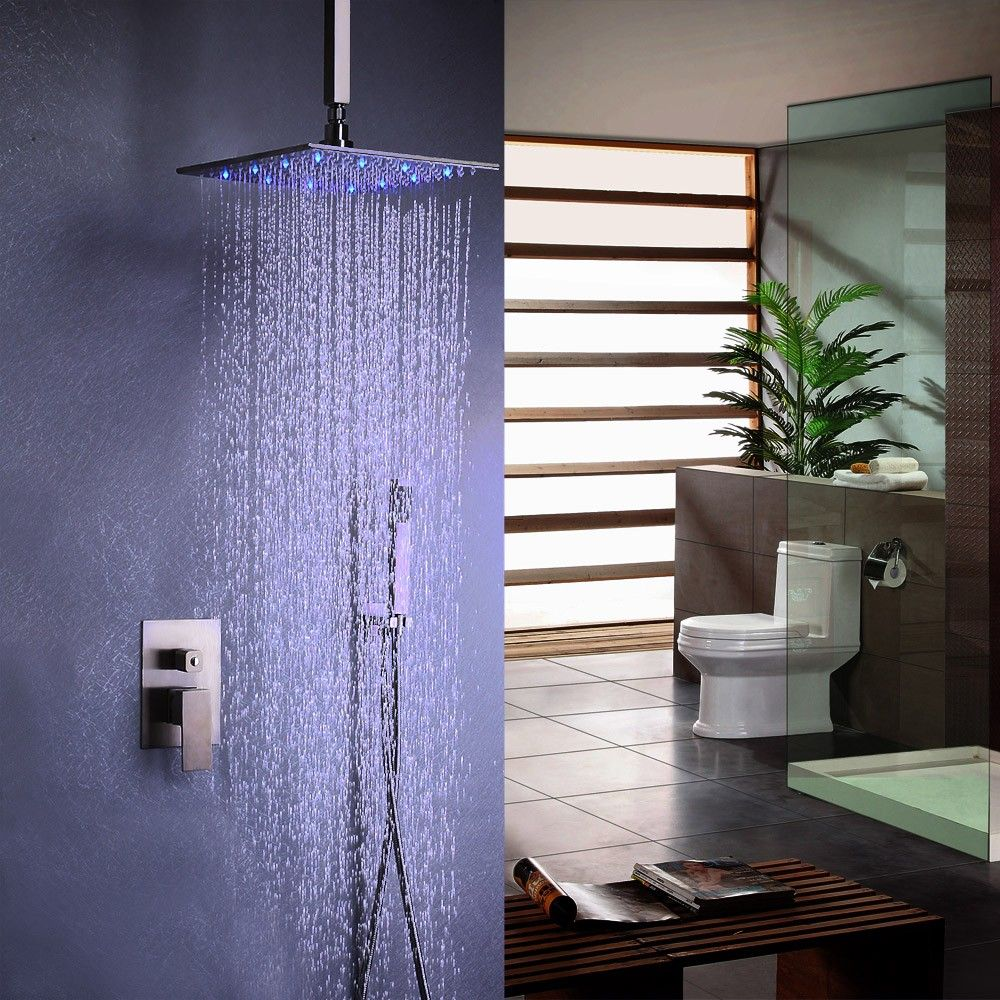 Dree Faucet Collection Features Simple And Modern Design That Adds A Touch Of Clean Minimalist Aesthetic Appeal Shower Systems Rain Shower Head Shower Faucet