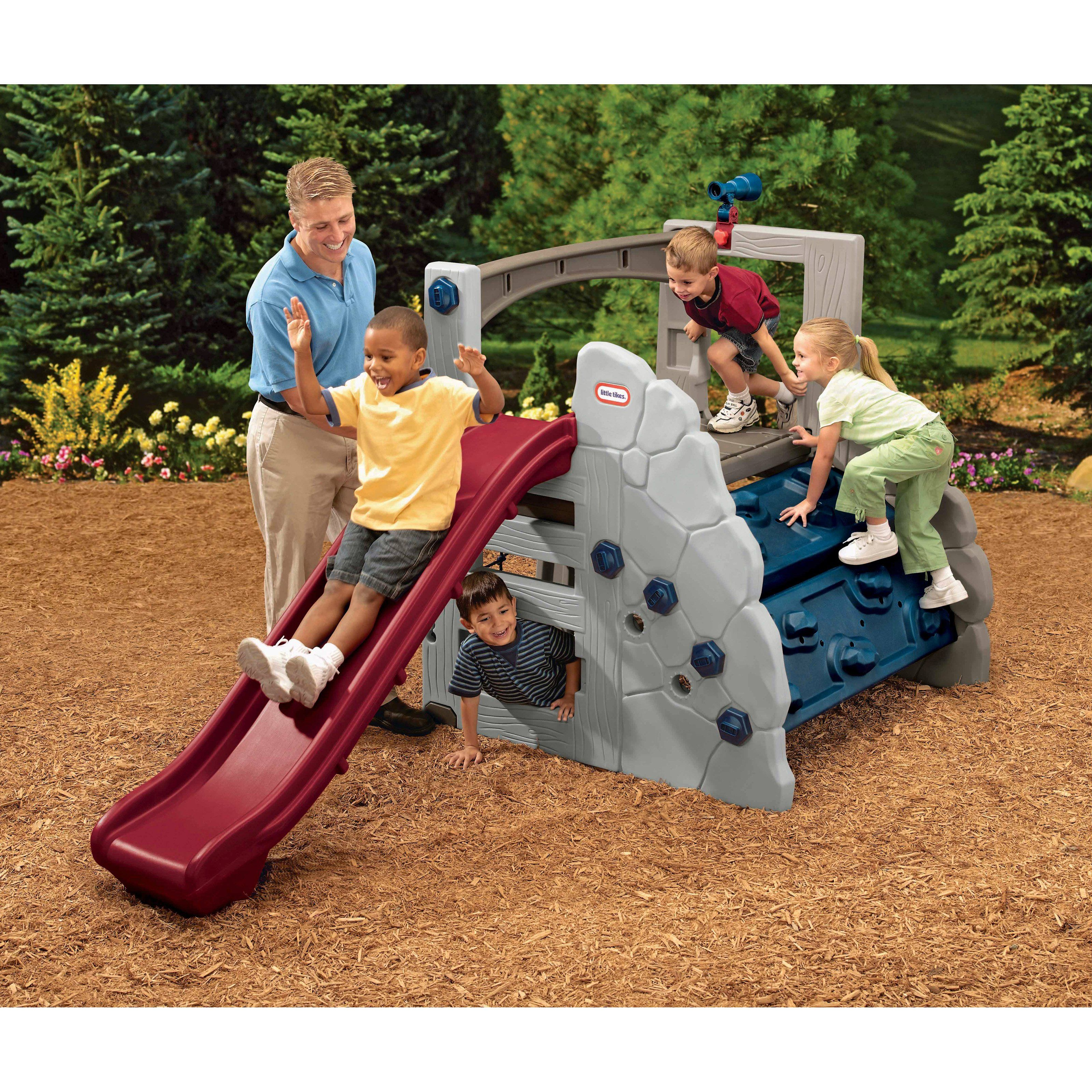 Little tikes adjustable table and chairs - Little Tikes Endless Adventures Adjustable Mountain Climber With Slide 449 99