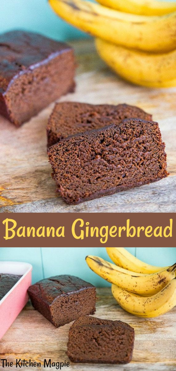 Banana Gingerbread Loaf | The Kitchen Magpie