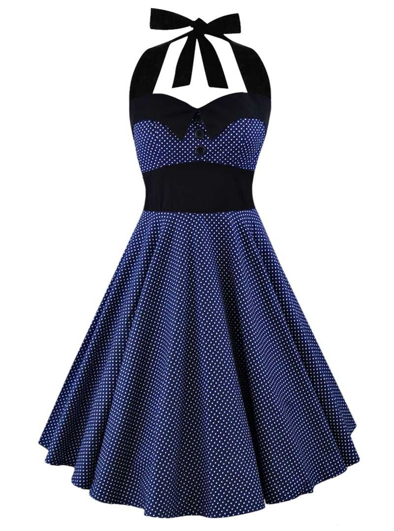 Robe Pin-Up Rockabilly Vintage Rock Ange\'Hell \