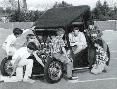 The Uncertain-T Steve Scott hot rod show car