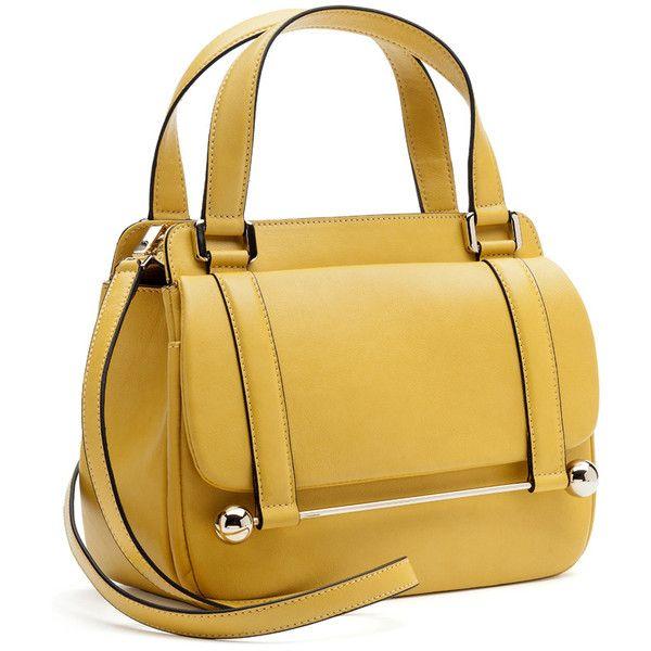 Rupert Sanderson Handbag with Cross Body Strap ($1,595) ❤ liked on Polyvore