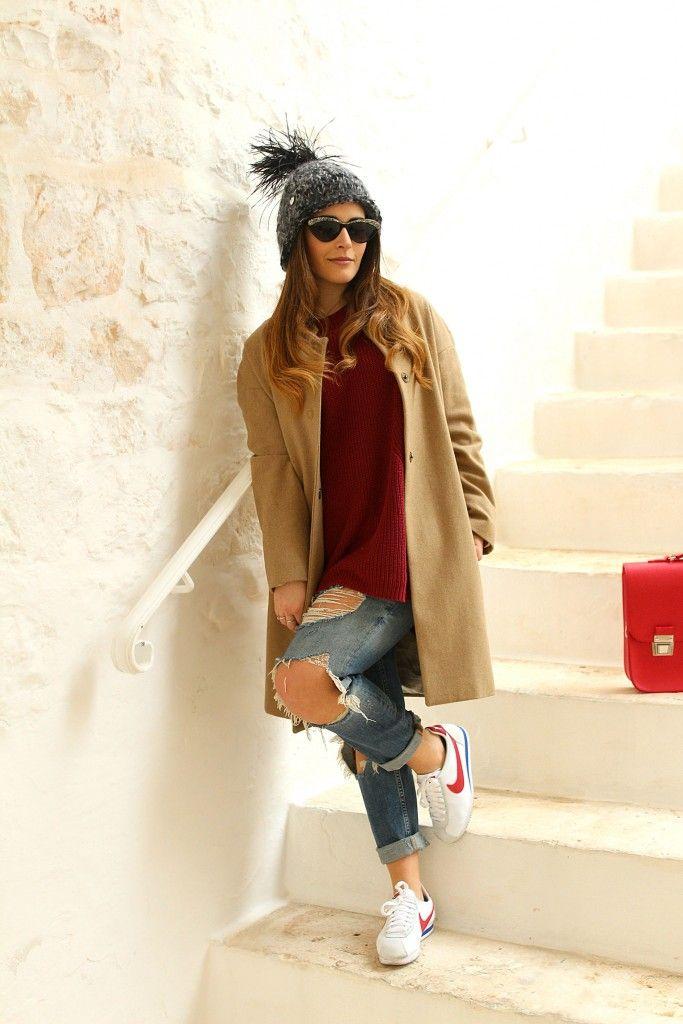 Cortez Jeans Maglione Look Nike My E Jeans Pinterest qpdOPZWHZn
