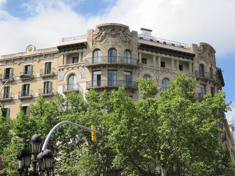 L'Union 1829. Paseo de Gracia, Barcelona