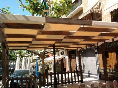 pergolas con telas - Buscar con Google toldos tapar sol - sombras para patios