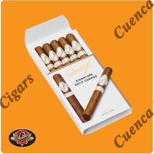 Davidoff Signature Petit Corona Cigars - Box of 5 - Price: $57.90