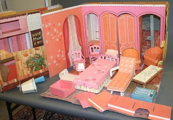 Coloring Cardboard House Michaels Tips