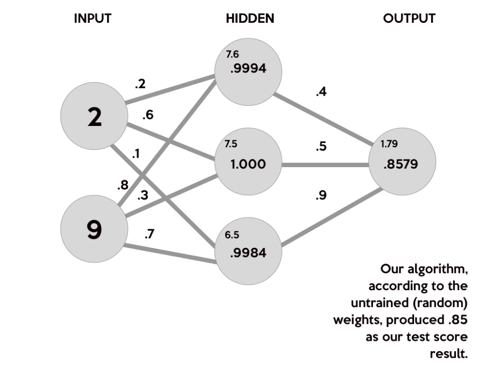 Build A Neural Network With Python Enlight Artificial Neural Network Machine Learning Networking