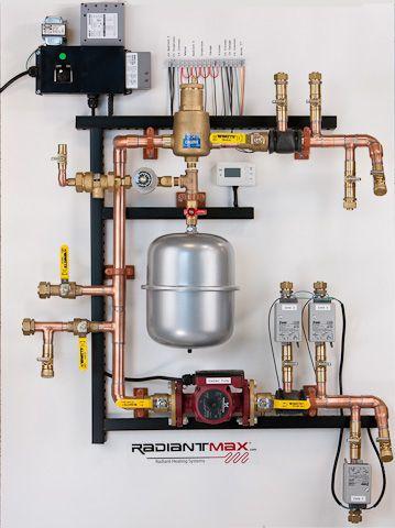 radiantmax, radiant heating HVAC control panels by Eagle ...