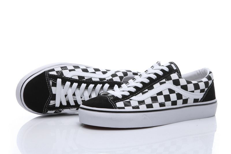 50a4316699 50th Anniversary Limited Black and White Checkerboard Vans OldSkool OG 1977  Style 3617  Vans