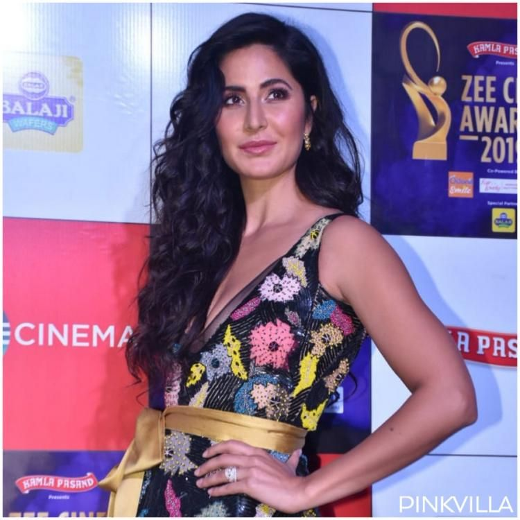Zee Cine Awards 2019 Katrina Kaif Looks Stunning As She Dons A Petite Gown For The Night Katrina Kaif Katrina Petite Gowns