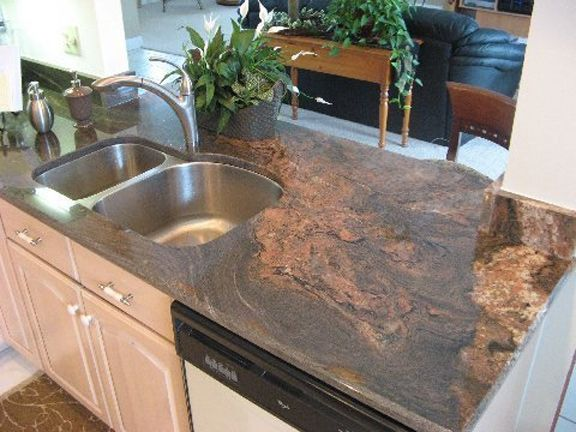 Black And Copper Granite | Granite Countertop Black Cambria Is A Solid  Black Stone With A Copper ... | My Kitchen | Pinterest | Granite Countertop,  ...