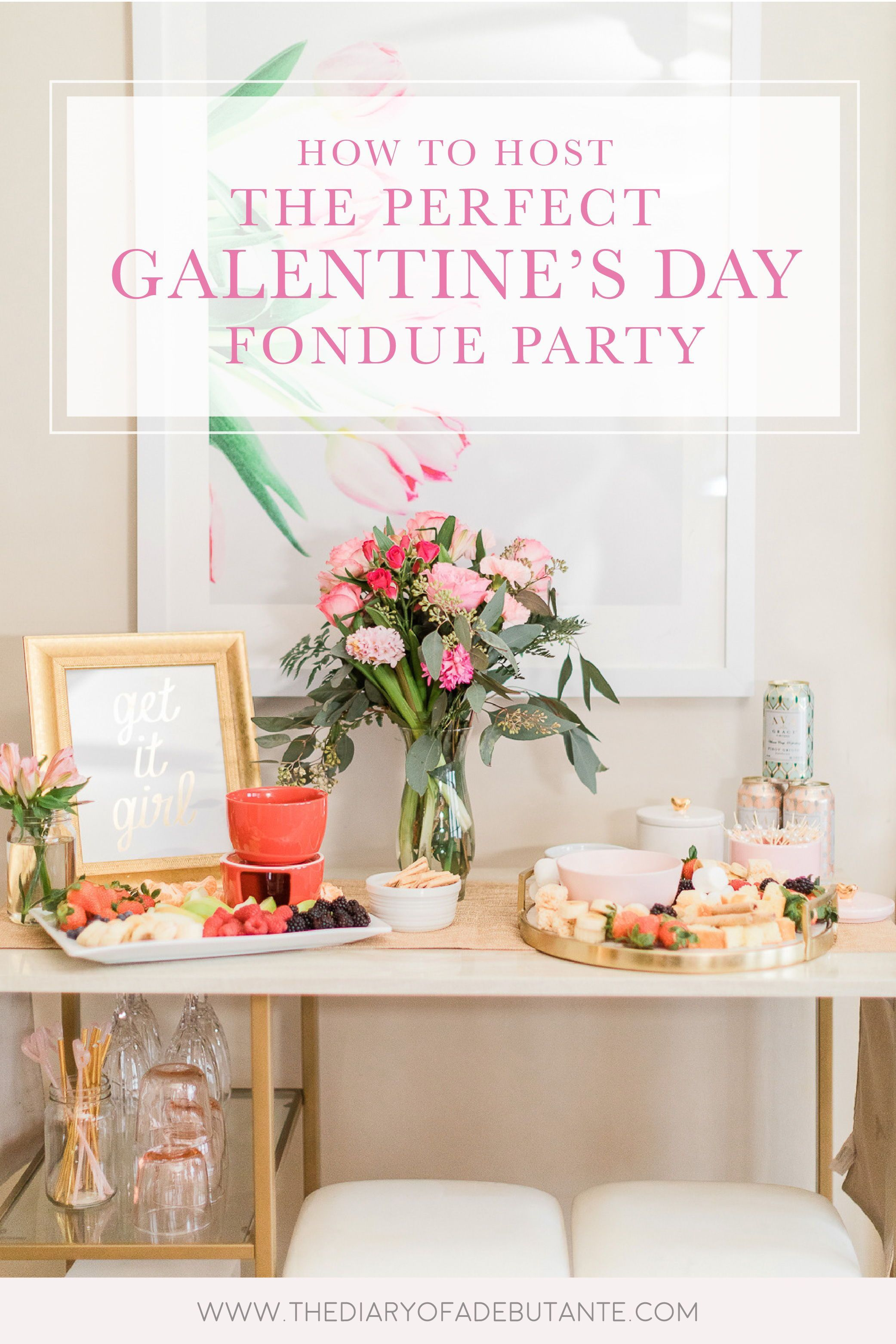 Galentine's Day Guide: Tips for Hosting a Fondue Party at Home