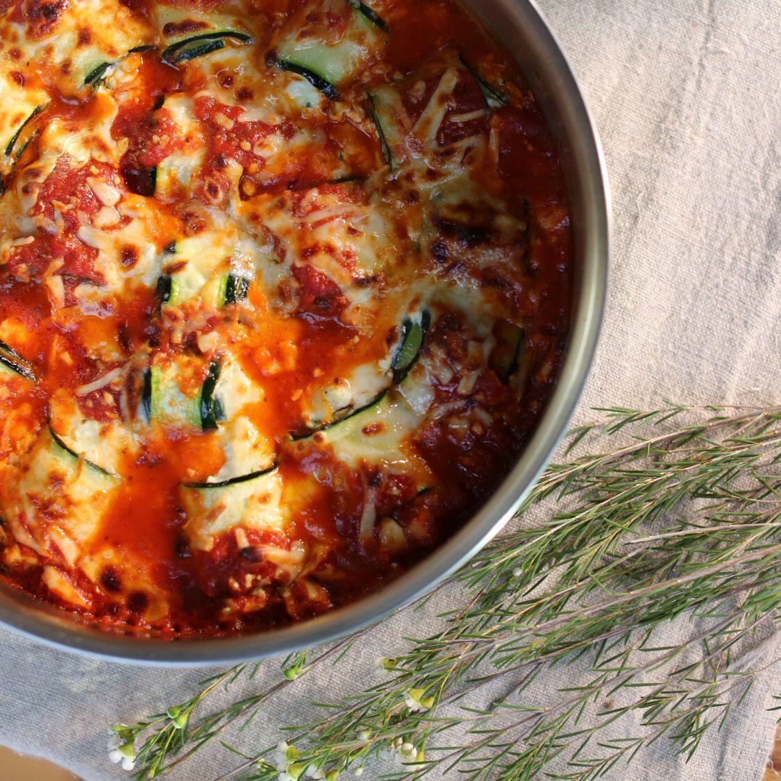 Zucchini Rollatini Recipe In 2020 Food Network Recipes Rollatini Recipes