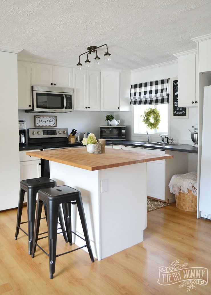 Our Guest Cottage Kitchen Budget-Friendly Country Farmhouse Style