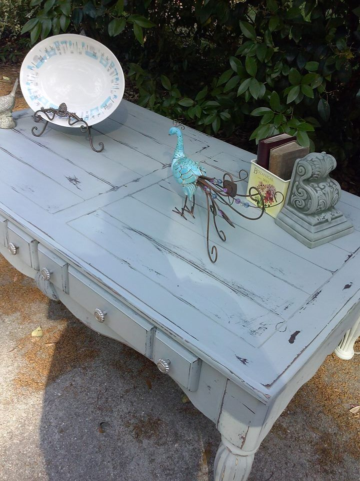 Gray Distressed Coffee Table Restore Me Furnishings Distressed