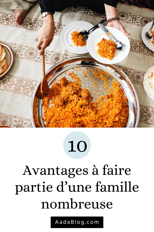 10 Avantages A Faire Partie D Une Famille Nombreuse En 2020 Famille Nombreuse Faire Soi Meme Famille