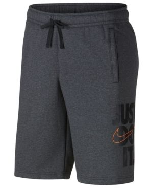 Nike Men's Just Do It Fleece Shorts Black M | ROXXXX