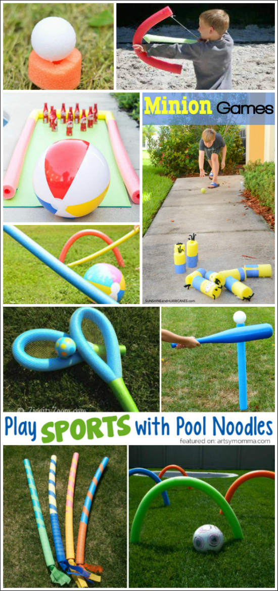 My Pool Noodle Animals For My Make Something From Junk Assignment Summer Crafts For Kids Crafts Pool Noodle Crafts