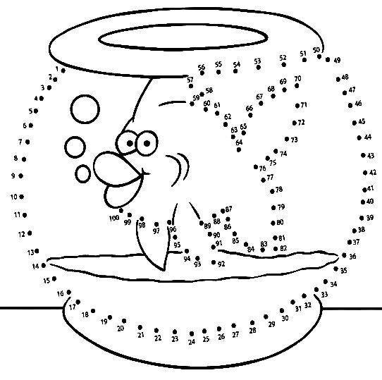 Fichas de actividades matemáticas para unir puntos y