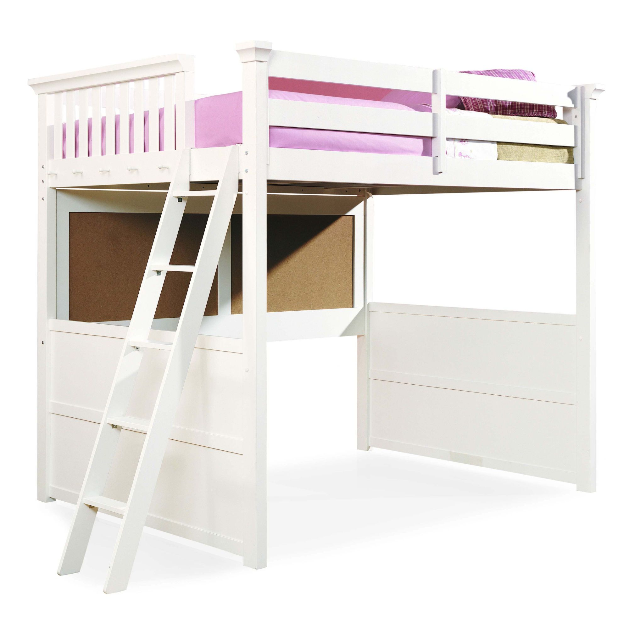 Loft bed for the girls | Girly Girls | Pinterest | Lofts, Room and ...