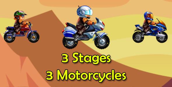 Bike Racing 3 Motorcycles Ios Xcode 10 Admob Motorcycle