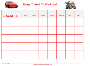 SITE OF THE DAY~FREE PRINTABLE BEHAVIOR CHARTS | MyCouportiera ...