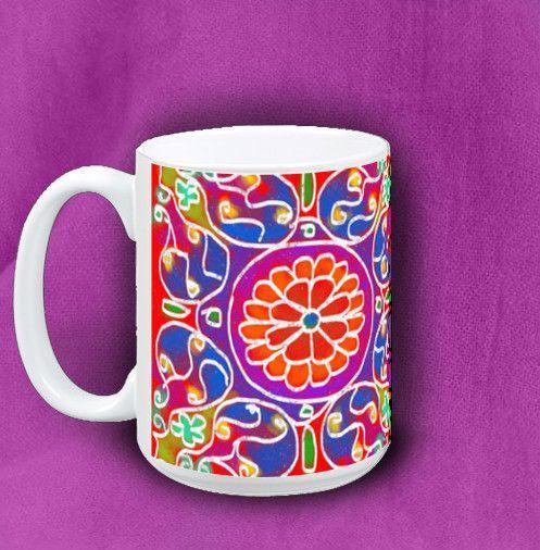 Gift Mandala 4 Mug - Coffee Mug Mandala 4
