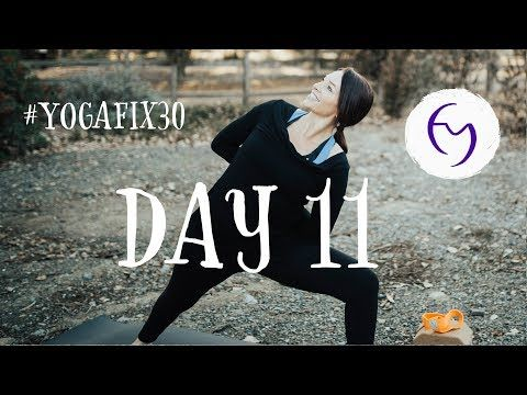 shoulders abs headstand day 11 with fightmaster yoga