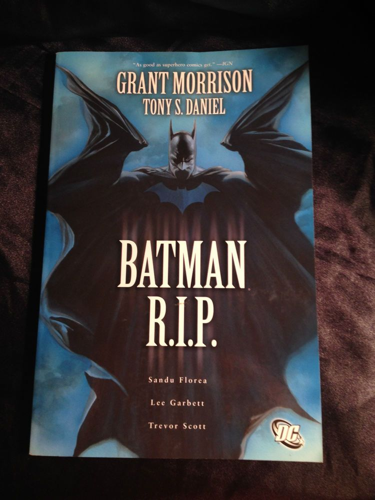 Batman: R.I.P . DC Softcover Graphic Novel Grant Morrison