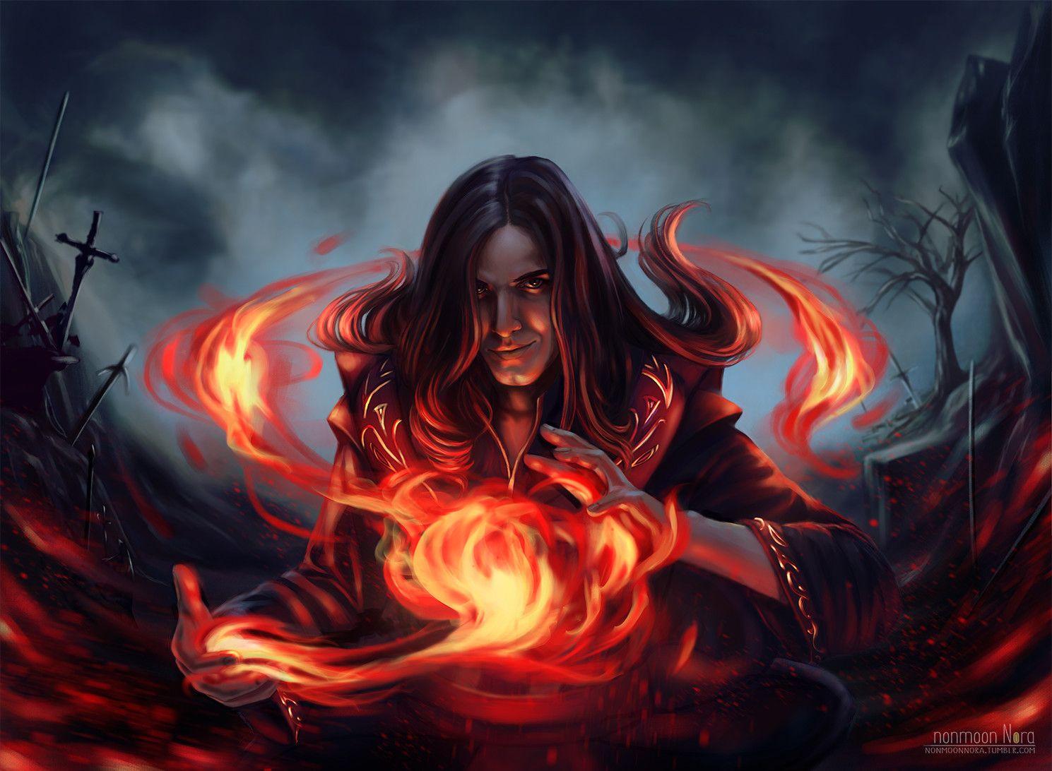 Картинки фэнтези огонь
